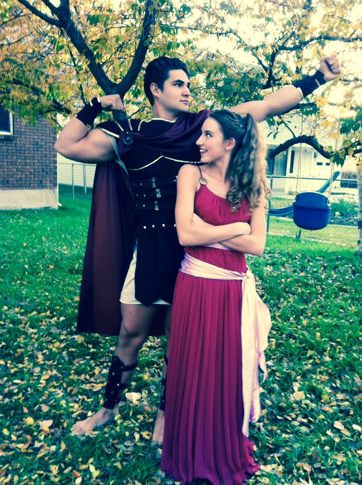 Meg and Hercules #disney #halloween