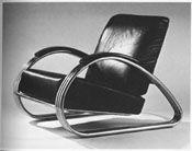 Kem Weber's lounge chair, 1934