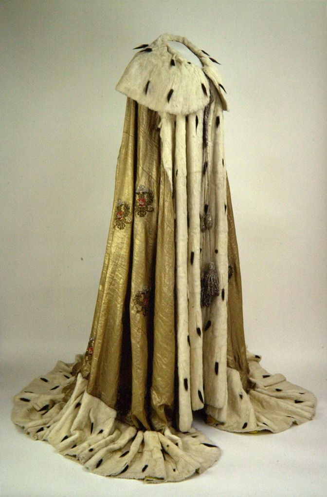 Maria Feodorovna Empress consort of All the Russias (26 November 1847 – 13 October 1928) Coronation Robe - 15 May 1883