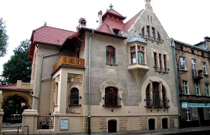 Łodź - willa Leopolda Kindermanna