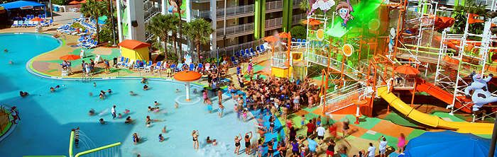 50% savings! Stay at the Nickelodeon Suites Resort in Orlando starting at $249 for a Two-Night Stay for Up to Six in a Superior Two-Bedroom Suite!