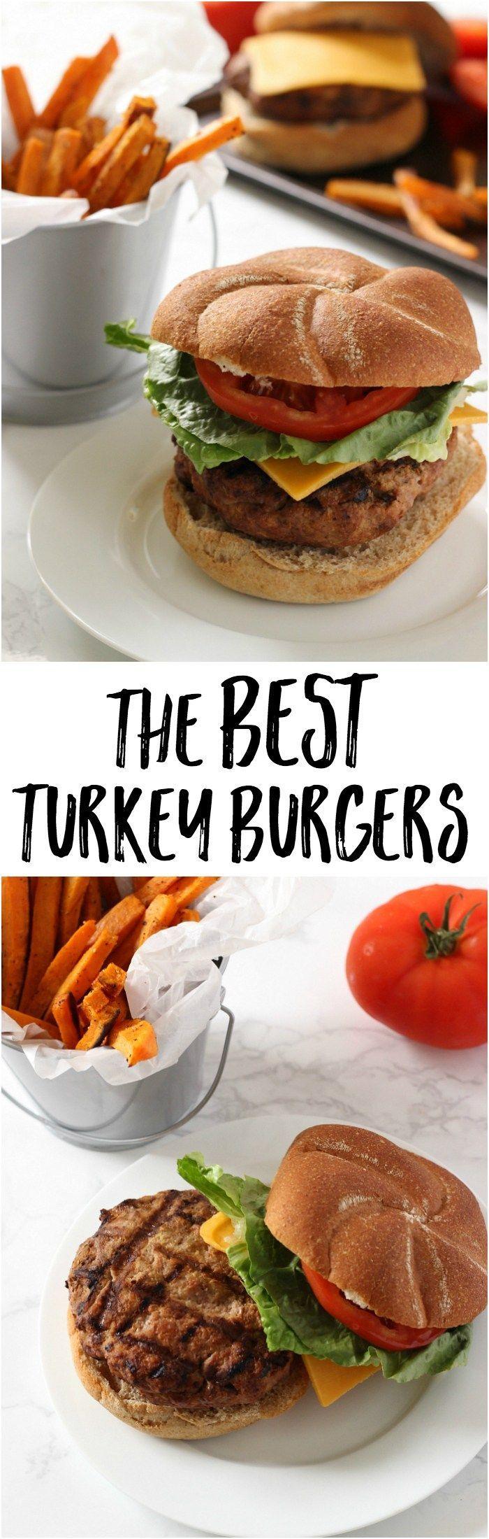 The Best Turkey Burger on Pinterest