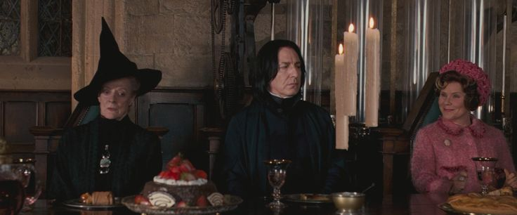 Minerva McGonagall, Severus Snape and Umbridge - HP and The Order Of The Phoenix