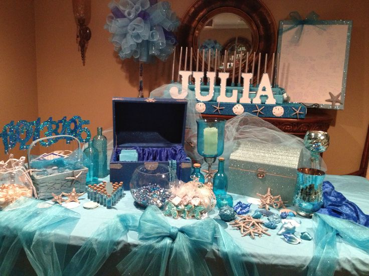 17 Best Images About Under The Sea Sweet 16 On Pinterest