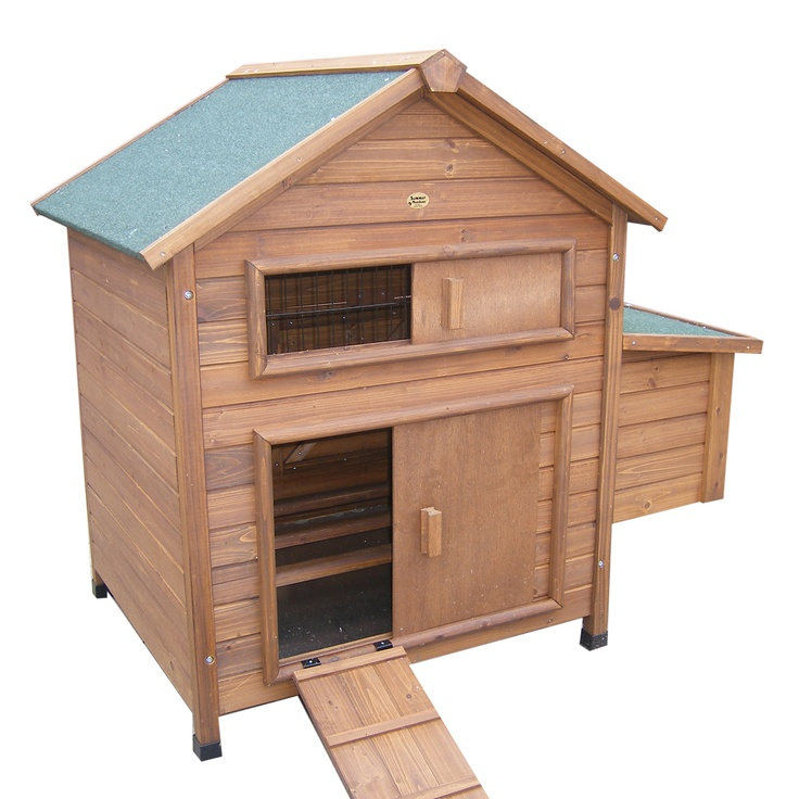 Chicken house chicken coops traditional pinterest for Fancy chicken coops for sale