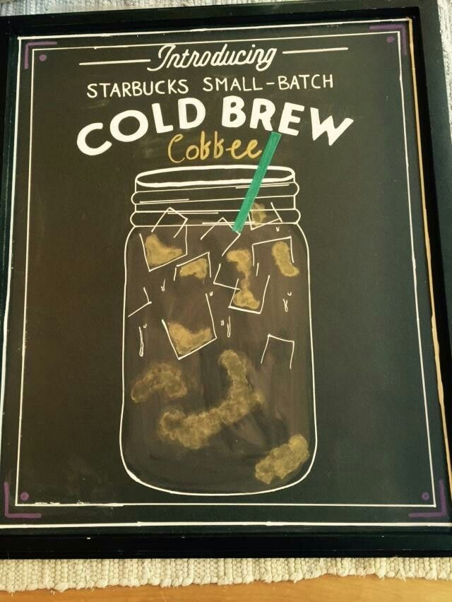 New cold brew coffee--so delicious with heavy cream, no sugar! My new fave
