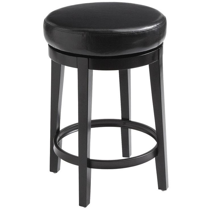 Stratmoor Swivel Counter Stool - Black