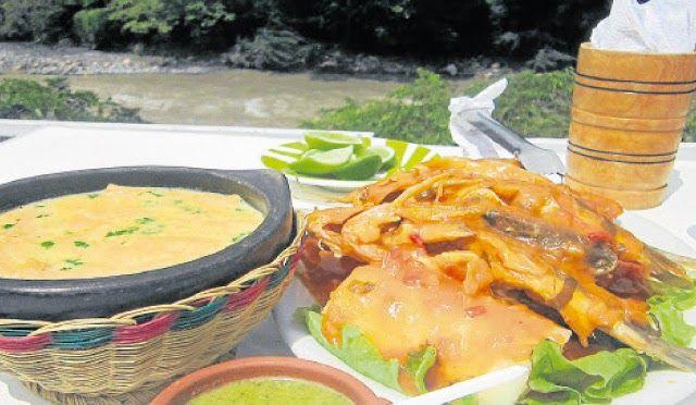 La rampuchada es un plato típico del Norte de Santander, éste se prepara con un pescado típico de Cúcuta( Mas específicamente del Río Zulia )  llamado Rampuche.