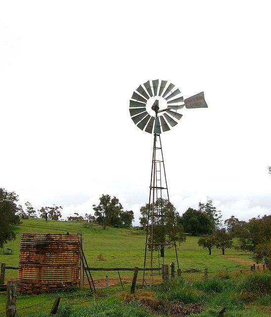 Windmills throughout Western Australia