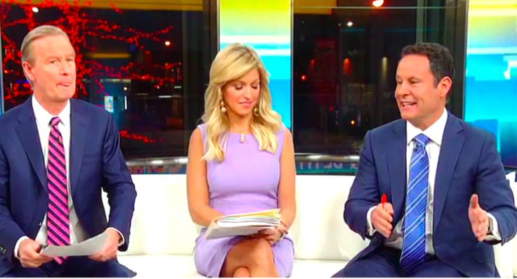 """Brian Kilmeade appeared to be speaking to the president directly Monday morning. The co-hosts of """"Fox & Friends"""" gloated over Susan Sarandon's continuing criticism of Hillary Clinton — but they seemed to preempt a positive tweet about the actress from their most famous viewer.The actresstoldThe Guardianover the weekend that Clinton was """"very, very dangerous,"""" and that """"we would be at war"""" if she had been elected."""