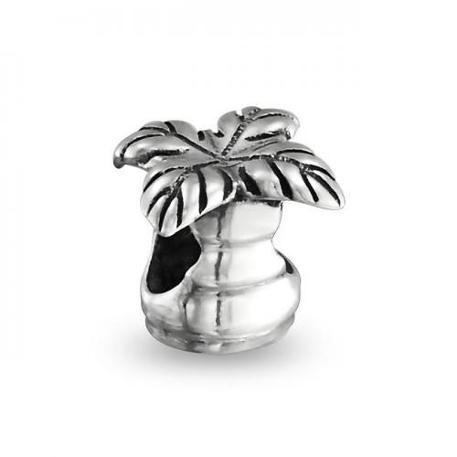 Bling Jewelry Beach Palm Tree Sterling Silver Bead Pandora Compatible