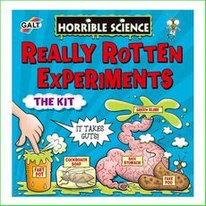 Really Rotten Experiments. Green Ant Toys  http://www.greenanttoys.com.au/shop-online/science-kits-and-toys/science-kits/horrible-science-really-rotten-experiments/