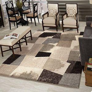 Orian Rugs Rampart 7' x 10' Indoor Area Rug - Gray