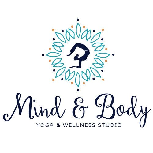 set up name like this (big) then underneath have it say Clara Yoga Studio *Shhh meditate* -name: maybe?