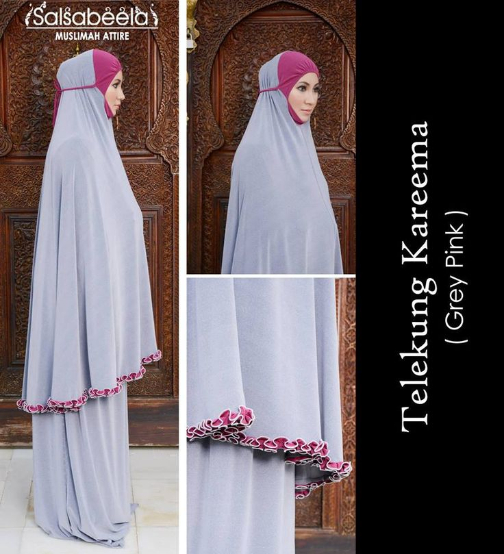 Telekung Kareema CODE: TKGP02 RM179 (exclude postage) Status: Available