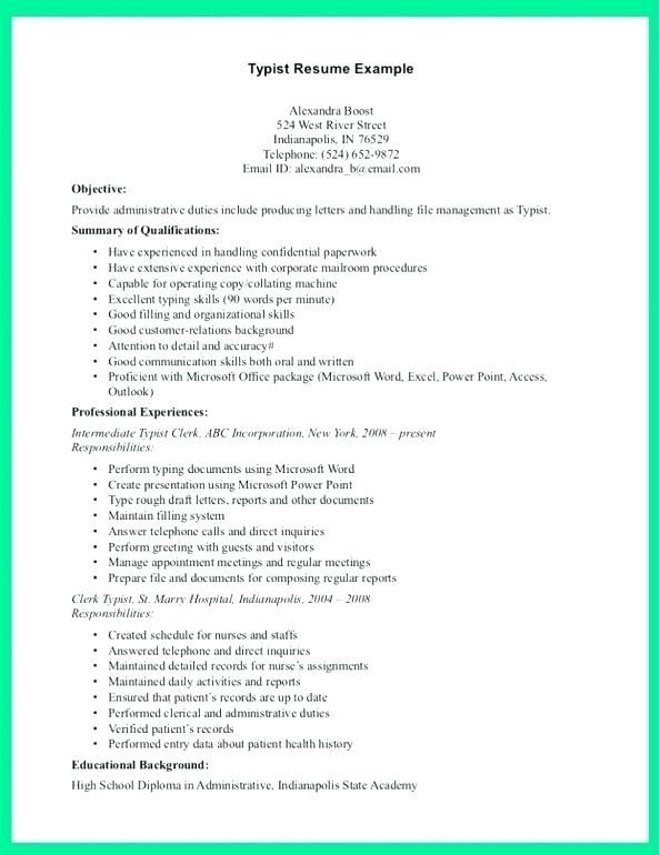 Example Of Cashier Resume Resume Examples Job Resume Examples