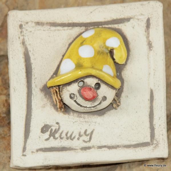 Kreative Kühlschrankmagneten ais Ton mit super starkem Magneten. © Kreativwerkstatt-Fleury www.keramik-fleury.de