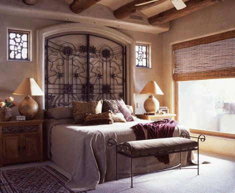 25 best ideas about wrought iron headboard on pinterest for Bedroom gate design