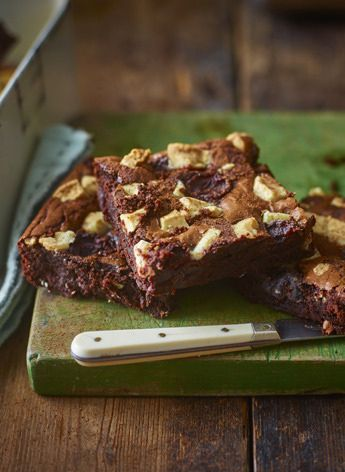 Cherry and triple chocolate brownies - yes please!