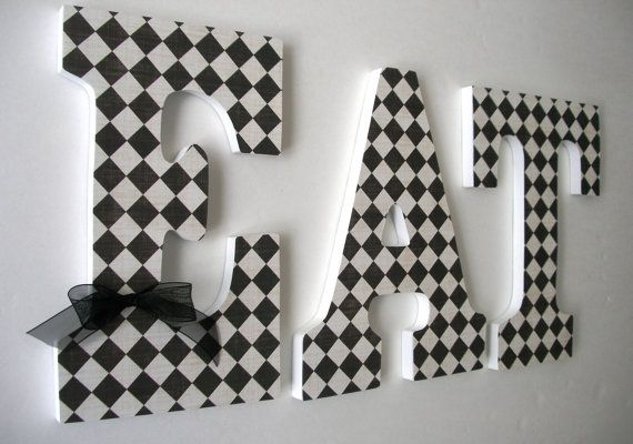 1000+ Ideas About Decorated Wooden Letters On Pinterest