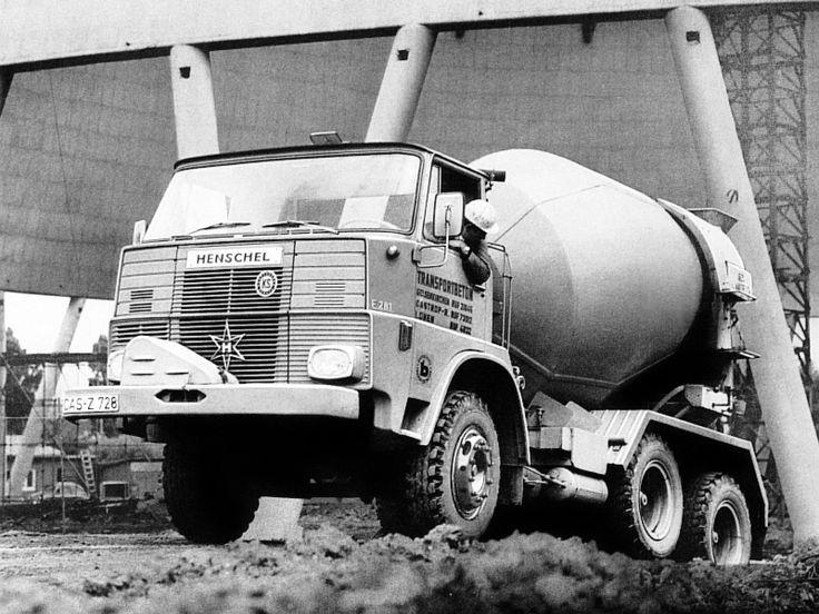 '1967-1974 Henschel F261 BM Betonmischer