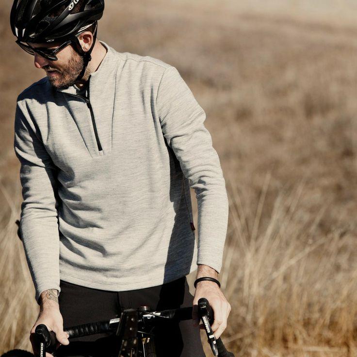 Giro New Road // HIGH NECK ZIP-UP - sewn in California