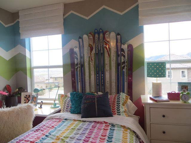 Ski And Headboards On Pinterest