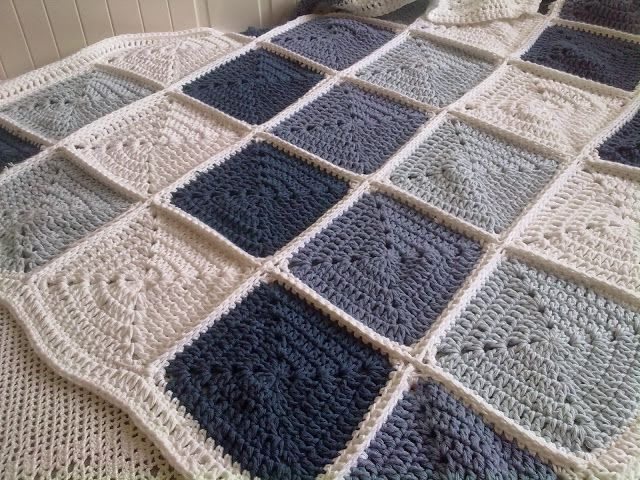 Stash Busting: Cotton Paris Drops Finished Blanket and another WIP