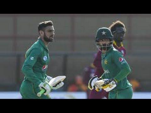 Shoaib Malik 100 runs against WI 2017:3rd ODI in guyana - YouTube