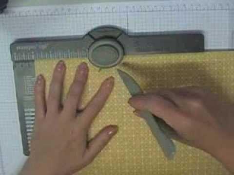 Envelope Punch Board Box and Tag tutorial - Tanya Bell