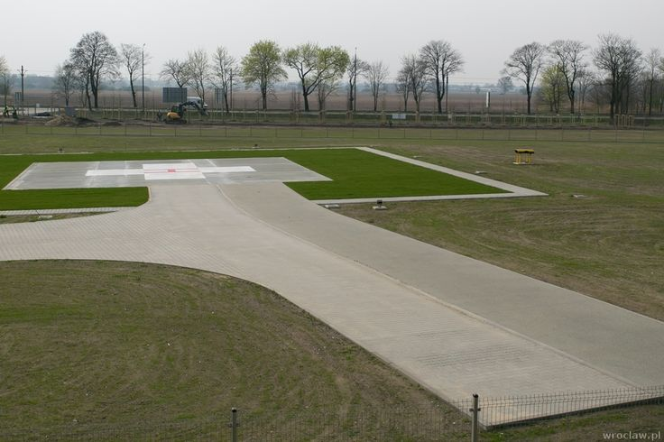 Lądowisko dla helikopterów gotowe w nowym szpitalu na Stabłowicach