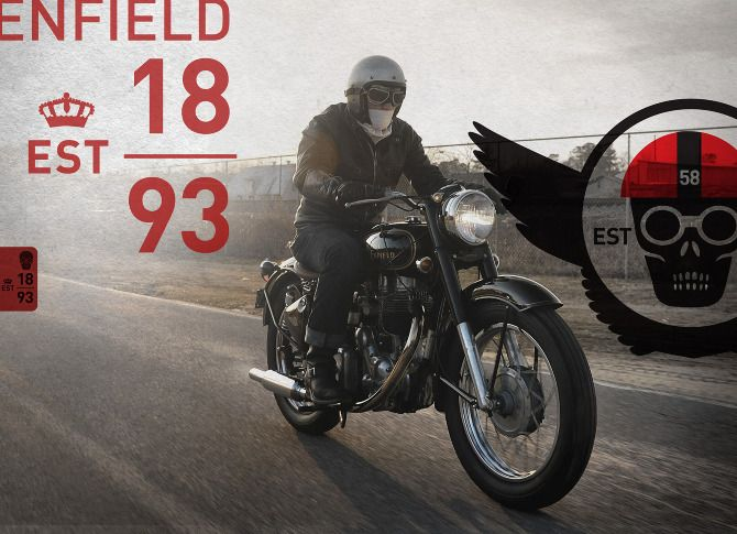 Royal Enfield Motorcycles - mark shepherd
