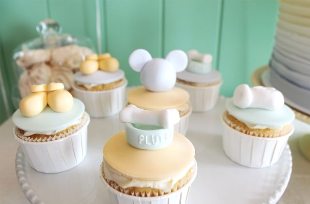 Cupcakes Baby Mickey