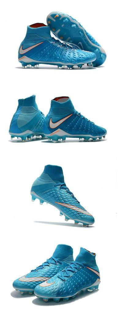 Nike HyperVenom Phantom 3 DF FG Nouvelle 2017 Crampons Foot Bleu