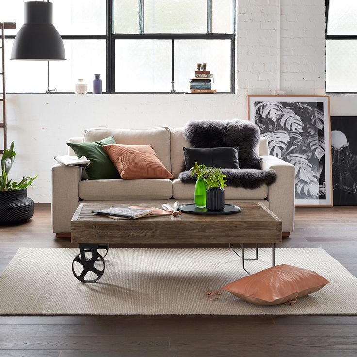 The Stratton Coffee Table from Focus On Furniture.
