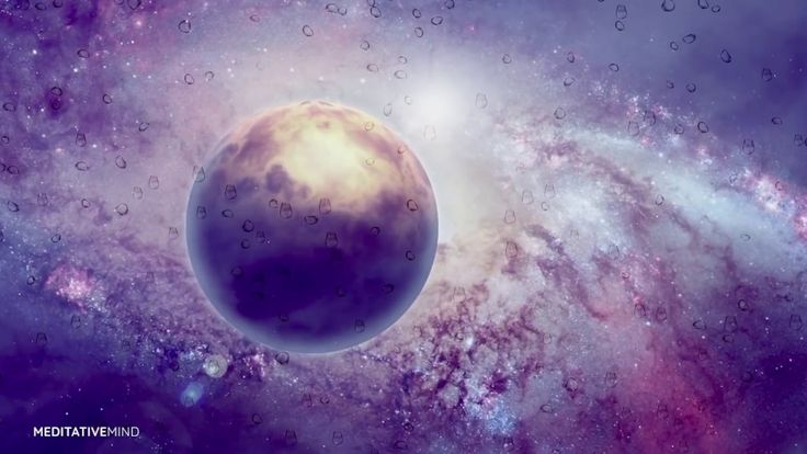 432Hz Cosmic Music for Sleep & Lucid Dreaming | RAIN in SPACE | Sleeping...