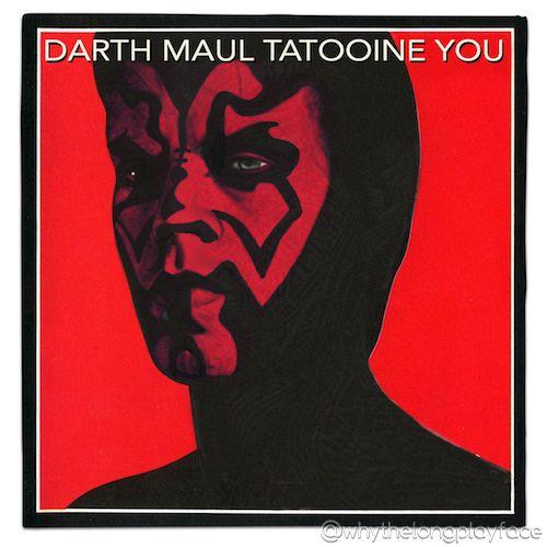 Star Wars Darth Maul Rolling Stones Tattoo You Album Cover Mash Up