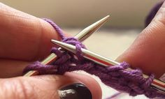 Brioche Knitting Part 1: The Basics (One-colour Brioche Rib) | Crafts from the Cwtch, #breien, tutorial met foto's en filmpje, brioche breien, breipatroon, techniek