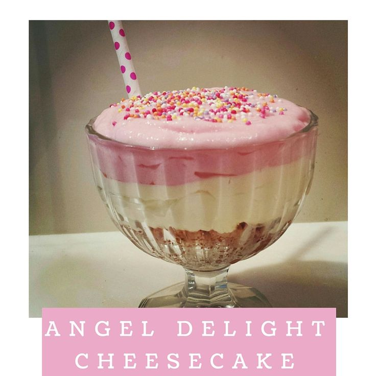 Angel Delight Cheesecake