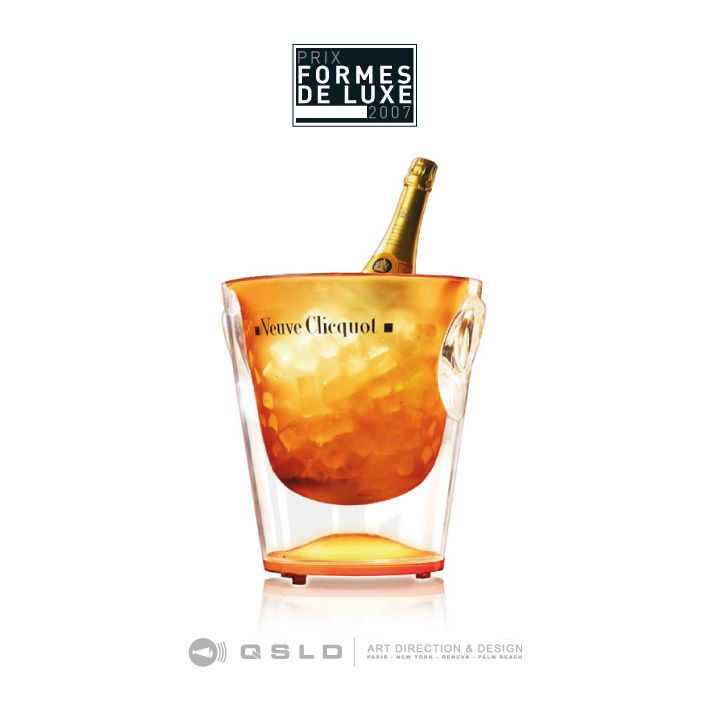 Champagne Veuve Clicquot Ponsardin – LVMH : Award Forme de Luxe – France: Trendy collection - Design by QSLD