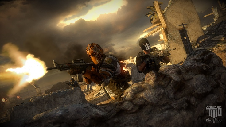 Electronic Arts officially announced that the new Army of TWO The Devil's Cartel game will be officially unveiled in North America on March 26, 2013; with Europe to follow three days later