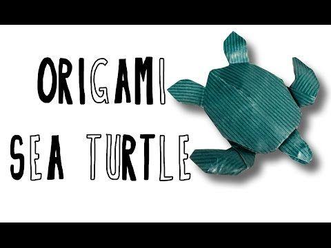 Origami Sea Turtle (Riccardo Foschi) - YouTube