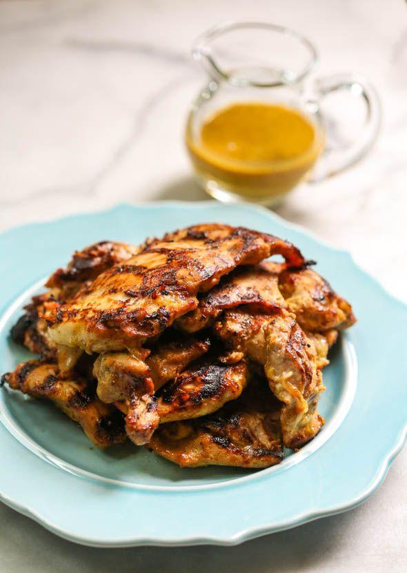 Maple Mustard Chicken Thighs from Our Best Bites