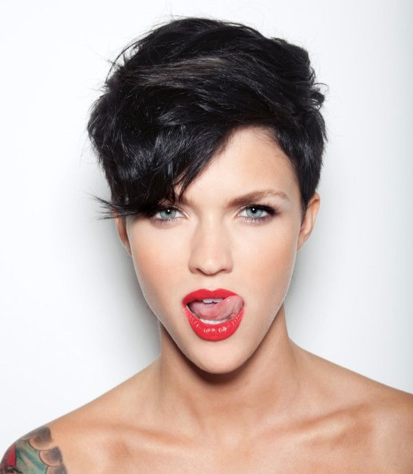 ruby rose haircut 2015 | Ruby Rose Set to Shake Things Up With Vauseman On Orange Is The New ...