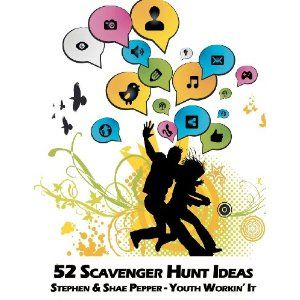 52 Scavenger Hunt Ideas. Great for fun date ideas!