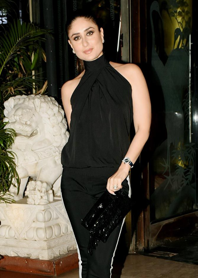 a8bef3c4907 Bebo stunnes in this black party wear outfit  BollywoodActress   KareenaKapoorKhan  BlackOutfit  outfitinspiration  BollywoodFashion   celebstyle