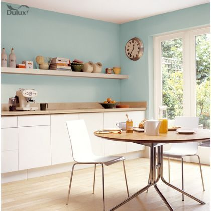 Dulux Mint Macaroon Kitchen Paint
