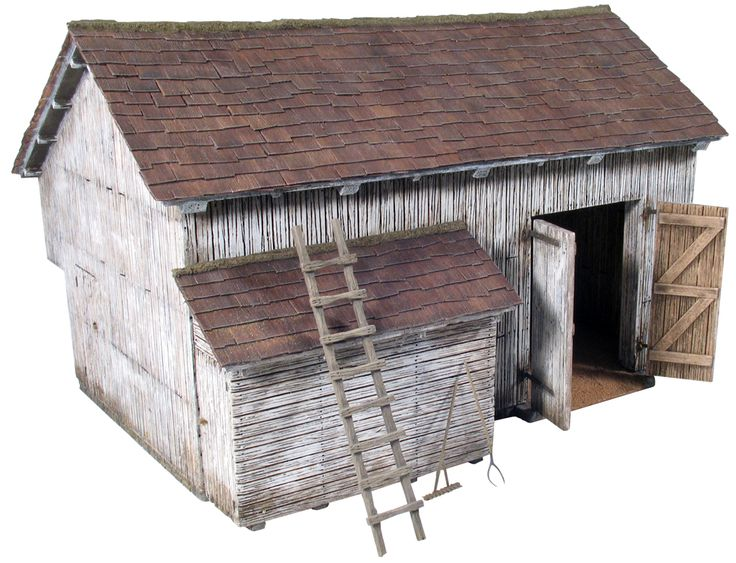 Inspiration: Miniature barn | Old Toy Soldier Home