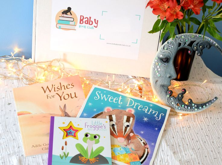 Baby Book Club subscription box April theme- Wishes & Dreams. 3 books a month. Lovingly hand chosen. Delivered to your door.