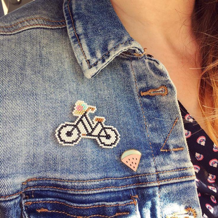 transport : vélo fruit : pastèque